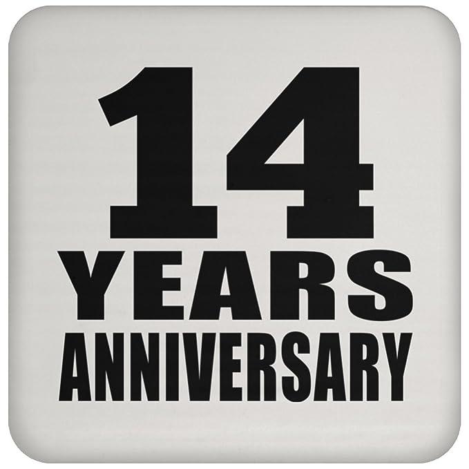 Amazon Anniversary Coaster 14 Years Anniversary Coaster