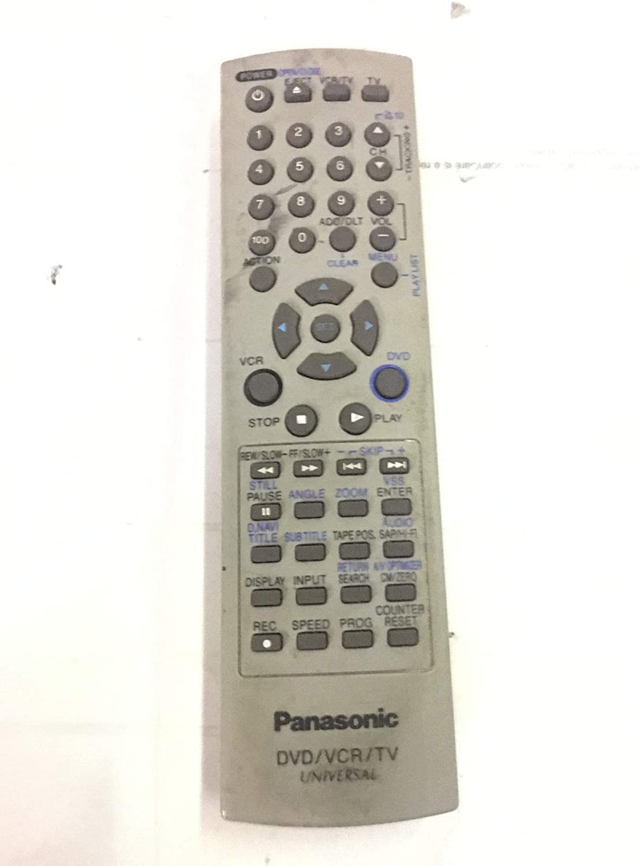 Panasonic UR77EC2406 - Mando a distancia universal para DVD, VCR y TV: Amazon.es: Electrónica
