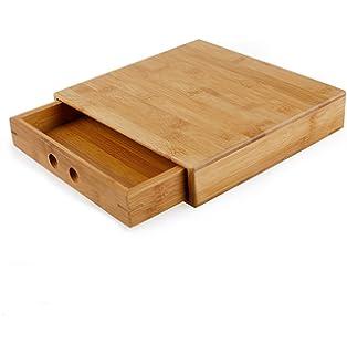 Puer Tea Box Pallet Natural Bamboo Puer Tea Cake Brick Breaking Tray Bamboo Case