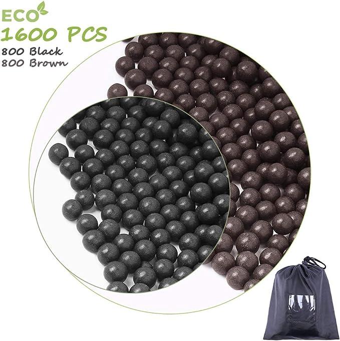 acero /& paintball-balas Original tiragomas Pocket-Shot; dispara Softair-