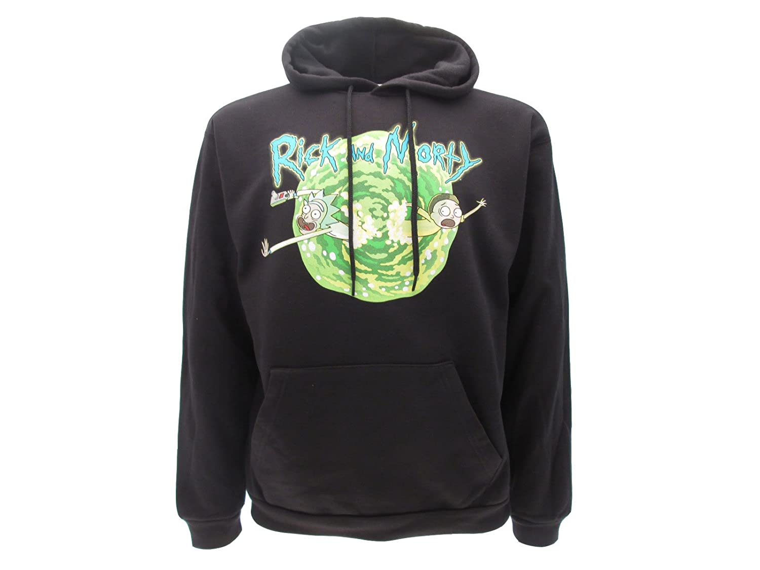 Sweat A Capuche Hoodie Adult Swim 100/% Officiel et Original Rick and Morty Qui Se Noie