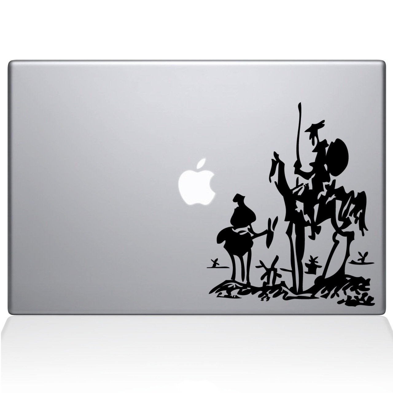 Don Quixote Macbookデカール Cut、Die Quixote Cut Vinyl ブラック Decal for Windows車、トラック、ツールボックス、ノートパソコン、ほぼすべてmacbook-ハード、滑らかな表面 ブラック Titans-Unique-Design-118832-Black ブラック B07174JD9B, ブティックアズベリー:dc60628b --- harrow-unison.org.uk