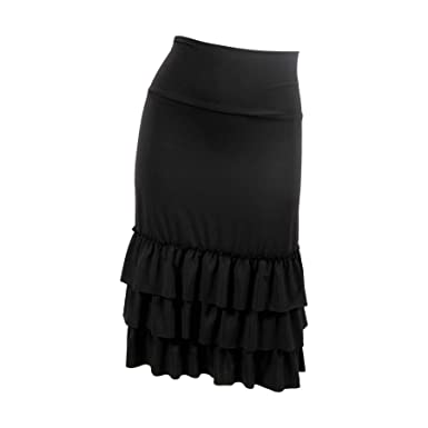 b855dd44ed7 Peekaboo-Chic Bring on The Frill Half Slip Skirt Extender
