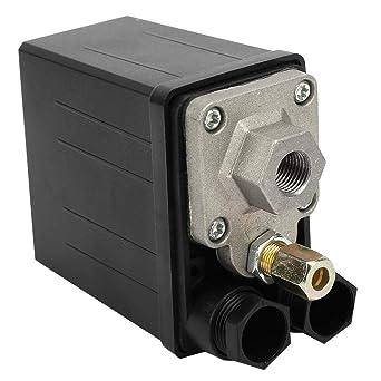 220V 0.4~0.7Mpa Interruptor de Válvula de Presión Interruptor de ...