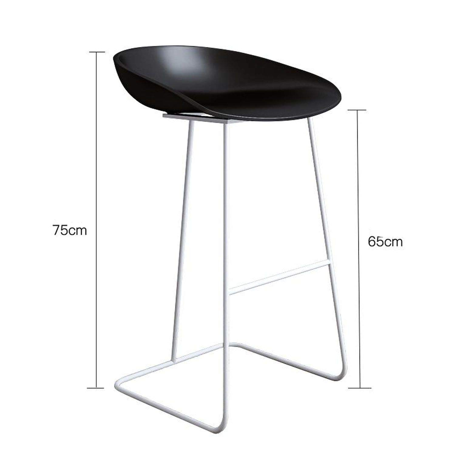 Style 7 one size Bar Stools gold Wrought Iron Stool Modern Minimalist Home Backrest High Chair Creative Net Red Bar,Style 11