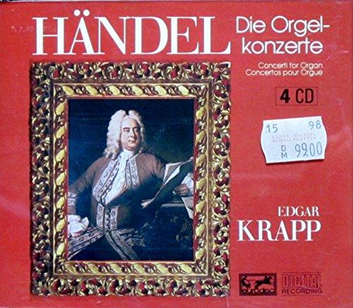 - Handel: Organ Concertos - Edgar Krapp, Organ and Conductor