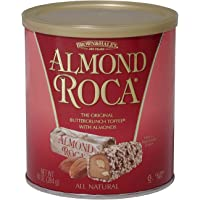 Brown and Haley Almond Roca (1) 10 OZ Can, 2 Pack