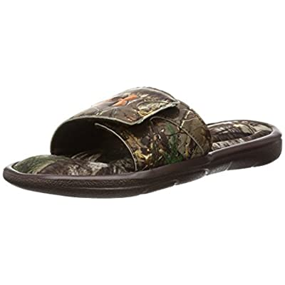 Activewear Pack (Men's Ignite Camo Slide Sandals & Workout Visor)