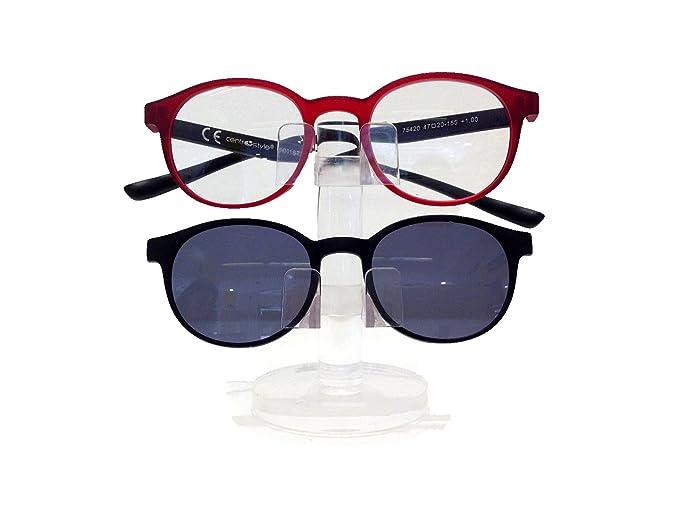 a basso prezzo b8a94 e11a9 Premontato Con Clip On CentroStyle Occhiale Da Lettura +1.00 ...
