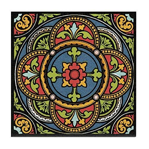 - CafePress Rosette Tile Coaster, Drink Coaster, Small Trivet