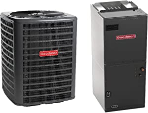 Goodman 3 Ton 16 Seer Heat Pump System with Multi Position Air Handler