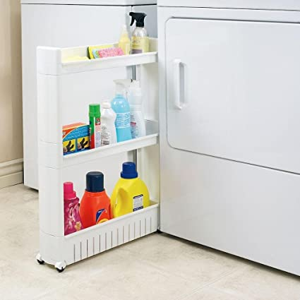 Rolling Storage Cart   Pull Out Pantry Cabinet   Slide Out Storage Shelf