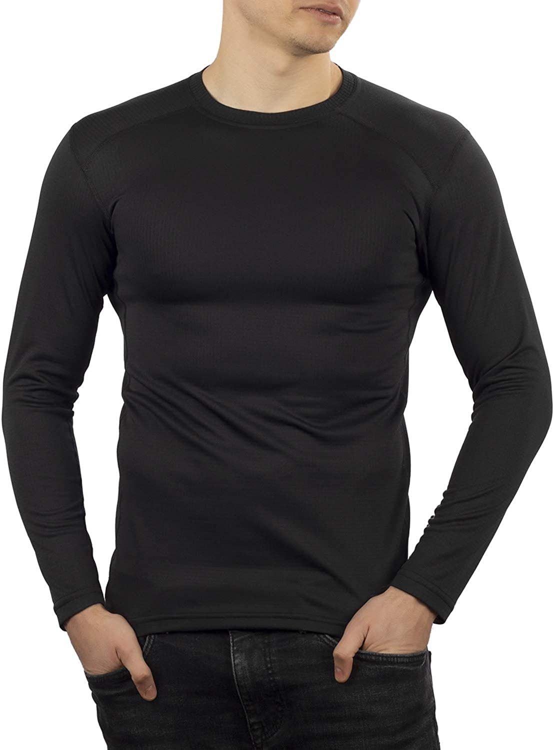 281Z Mens Thermal Lightweight Base Layer Shirt - Hiking Trekking Outdoor - Polartec Power Grid - Terrain Reliability Line