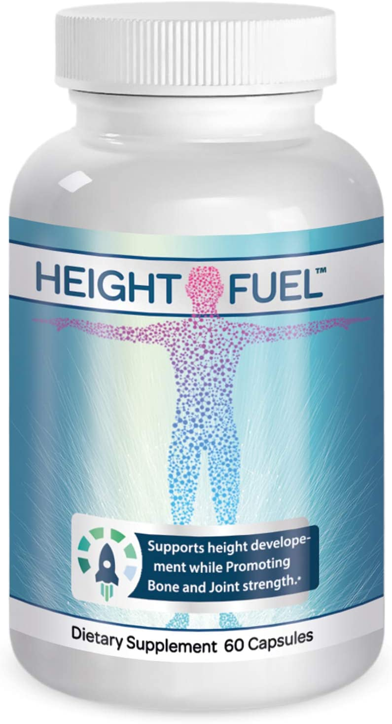 Height Fuel by Success Chemistry – Maximum Strength Height Fuel Enhancement Powerful Antioxidant – Natural Bone Support Joint Growth Formulation – Grow Taller Faster