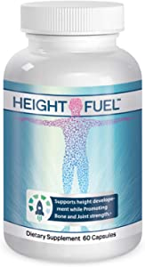 Height Fuel by Success Chemistry® - Maximum Strength Height Fuel Enhancement & Powerful Antioxidant - Natural Bone Support & Joint Growth Formulation - Grow Taller Faster