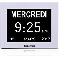 "Excelvan Calendario Digital (Pantalla de 8"", Función"