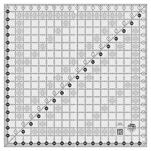 Creative Grids 18.5'' X 18.5'' Square Quilting Ruler by Creative Grids