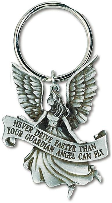 Amazon.com: Nunca Disco más rápido que su ángel Fly peltre ...