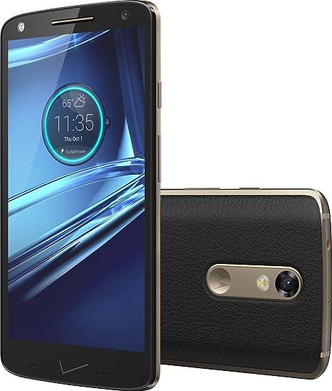 Motorola DROID Turbo 2 XT1585 32GB - Black Leather (Verizon Wireless)