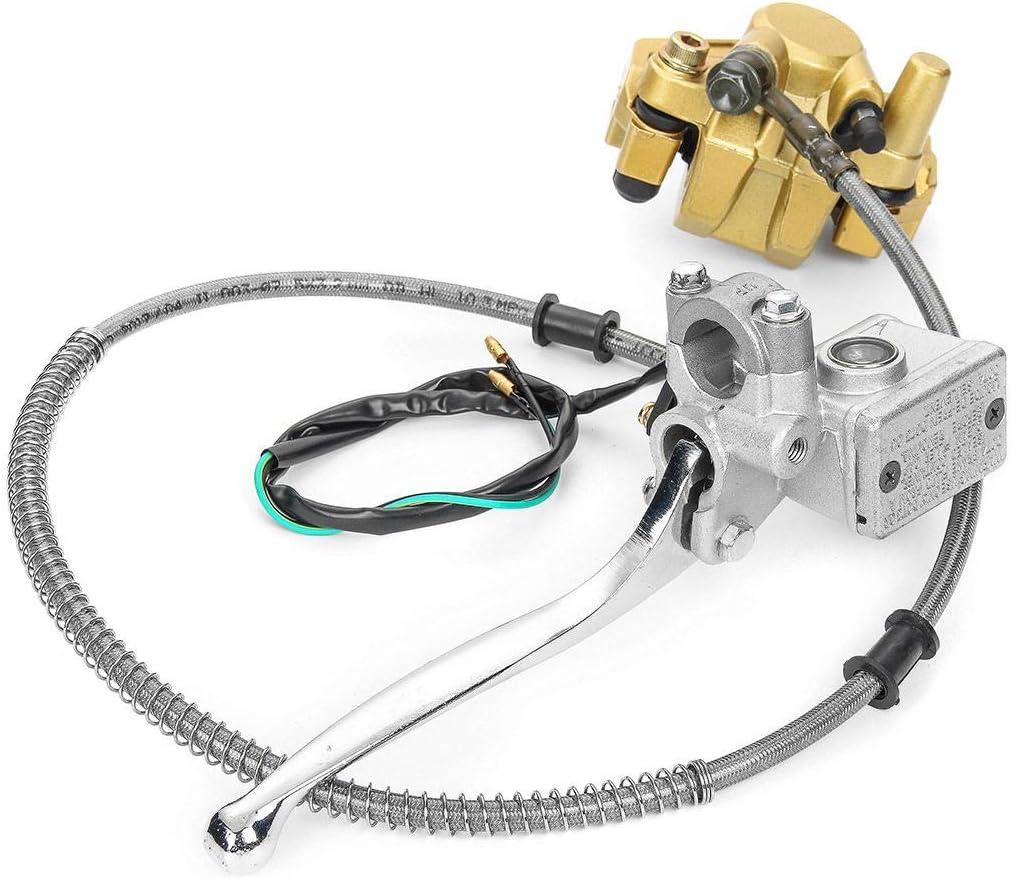 Beck Orlando ejercitador Sistema hidr/áulico del Adaptador de la Pinza del Freno de Disco Delantero for Honda Monkey z50 Bike z50R Pedales