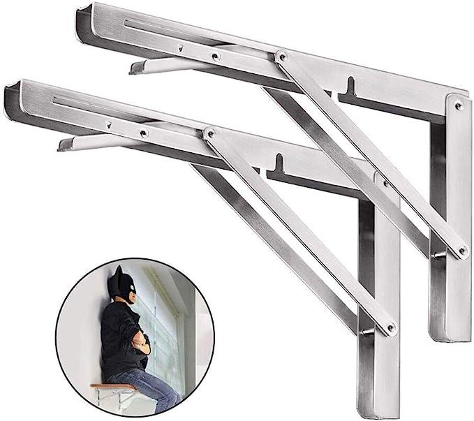 Stainless Steel Sill Protector Corner Bracket eckschiene 1000mm 40x20mm 3-Fold Folded k320.