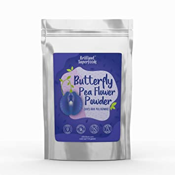 Amazon.com : Butterfly Pea Flower Powder - Blue Food Coloring for ...