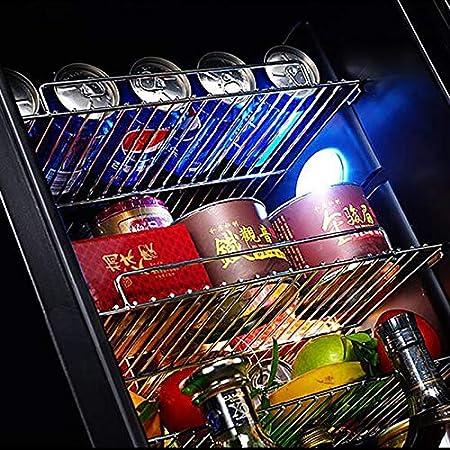 Enfriador de vino de 62 litros Nevera de vino con 2 cerraduras Control de humedad Compresor de actualización digital inteligente Bodegas de vino integradas o independientes para bar de oficina en ca