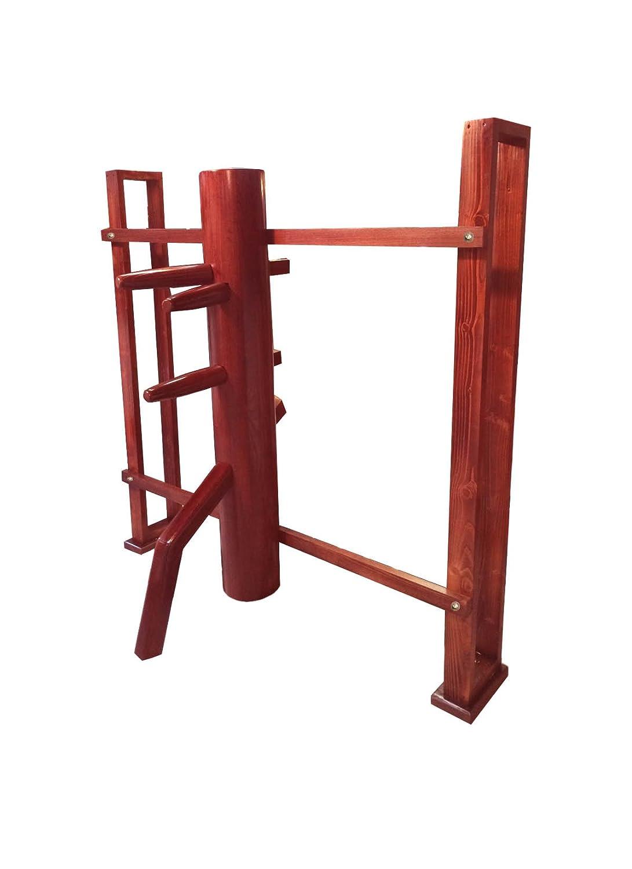 Amazon.com: Wing Chun Dummy con soporte de pared: Sports ...