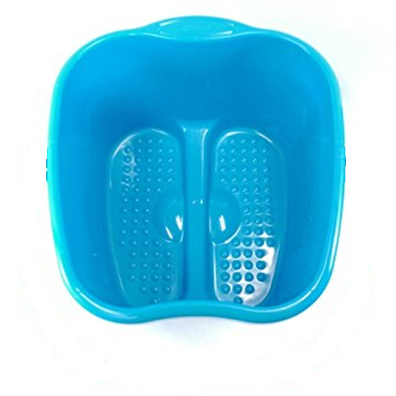 Vextronic Footbath Tub Large Foot Basin For Soaking Foot,Pedicure,Spa and Foot Massage (Blue)