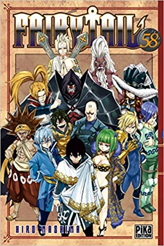 Fairy Tail Tome 58 Avec Un Extrait Des Brigades