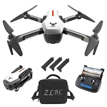 Goolsky SG906 GPS Drone 4K sin escobillas con cámara Bolso 5G WiFi ...