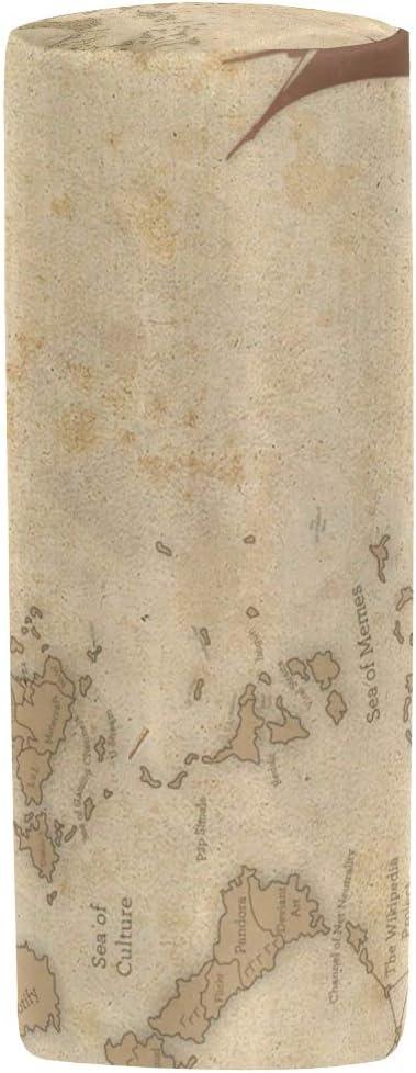 DJROWW - Estuche organizador para lápices con cremallera, diseño de árbol de pino Westfalia, color Color05 8x3x3 in: Amazon.es: Oficina y papelería