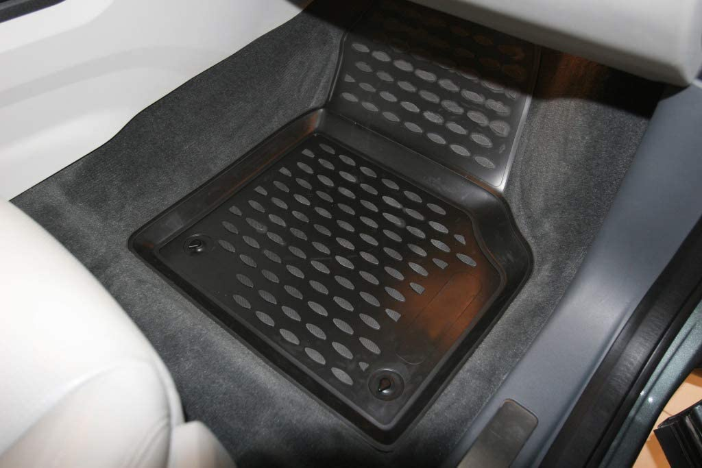 Element EXP.NLC.3D.28.17.210 3D Passgenaue Premium Antirutsch Gummimatten Fu/ßmatten Land Rover Discovery Sport I L550 2014-2019 Schwarz Passform