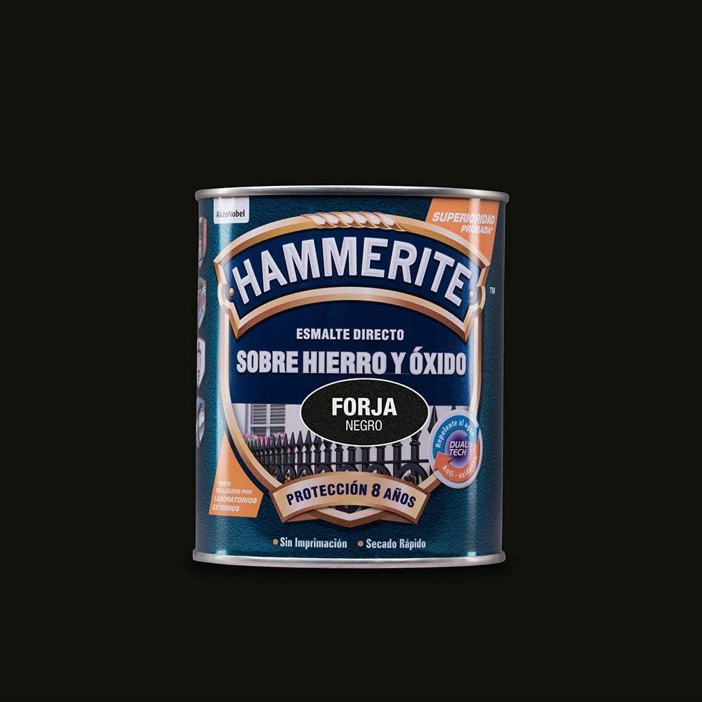 Hammerite 5093196 - Hammerite Metalico Forja 750Ml Negro