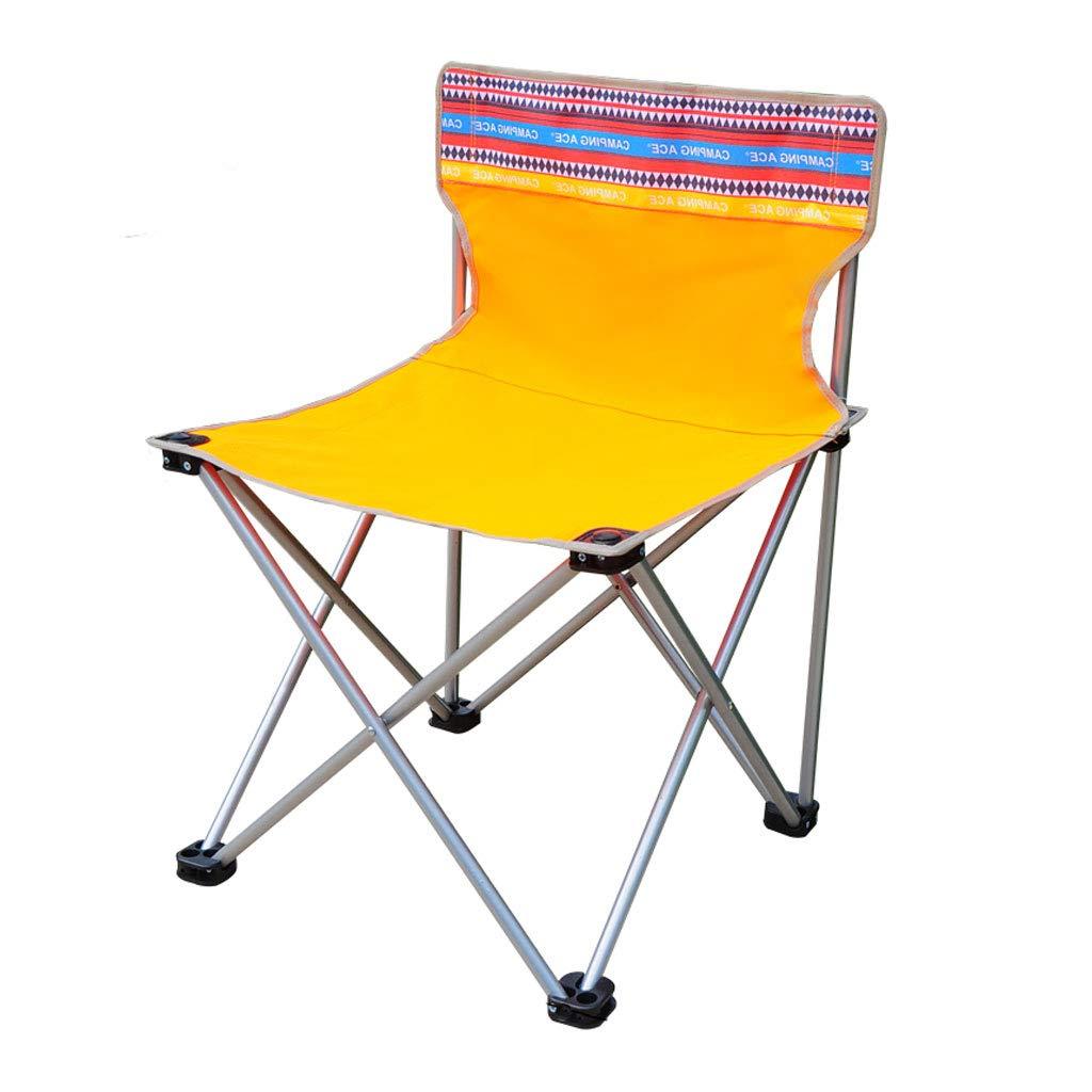 KAI LE Klappstuhl im Freien Klappstuhl Strand Stuhl Klappstuhl Mazar Angeln Stuhl Leinwand Klappstuhl Skizze Stuhl