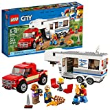 Toys : LEGO City Great Vehicles Pickup & Caravan 60182 Building Kit (344 Piece)