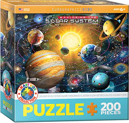 EuroGraphics Exploring The Solar System 200 - Piece Puzzle