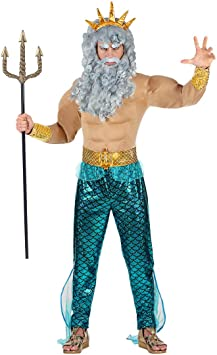 NET TOYS Gracioso Disfraz de Neptuno para Hombre | En Talla L (ES ...
