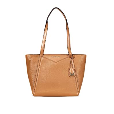 d40e320d1bd3 Michael Kors Whitney Small Top Zip Leather Tote