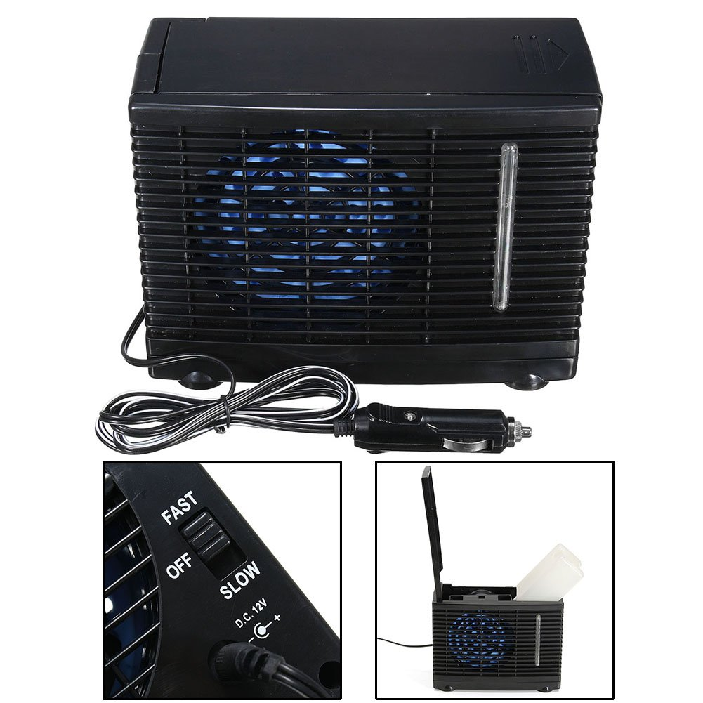 Yutang Mini Air Conditioner, Car Cooling Air Fan 12V Auto Vehicle Van Speed Adjustable Silent Portable Cooler by Yutang (Image #7)