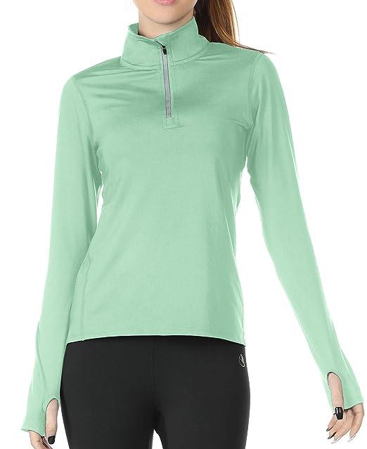 Amazon.com: icyzone - Camisas de manga larga para mujer ...