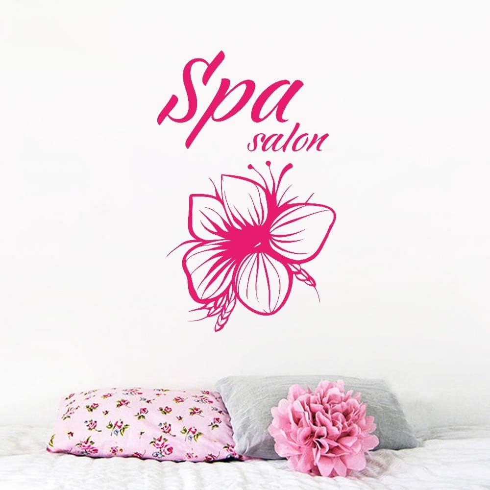 wukongsun SPA Salon Tatuajes de Pared Logo Belleza Flor Masaje ...