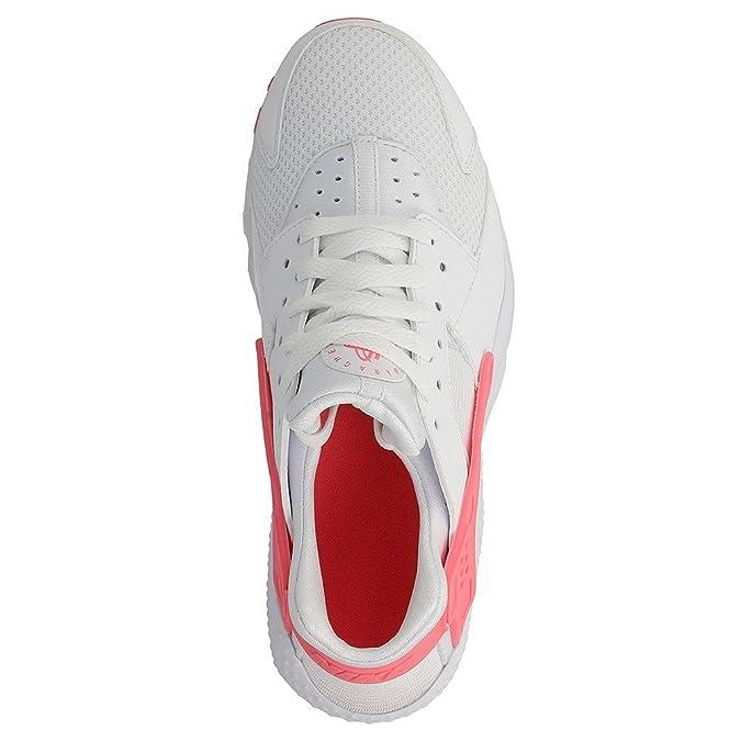 ea543d8b465 Nike - Huarache Run (GS) White-Racer Pink - Sneakers Damen - 38 eu   Amazon.de  Schuhe   Handtaschen