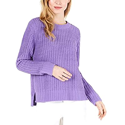 Maison Jules | Matte Chenille Sweater | Meadow Violet at Women's Clothing store