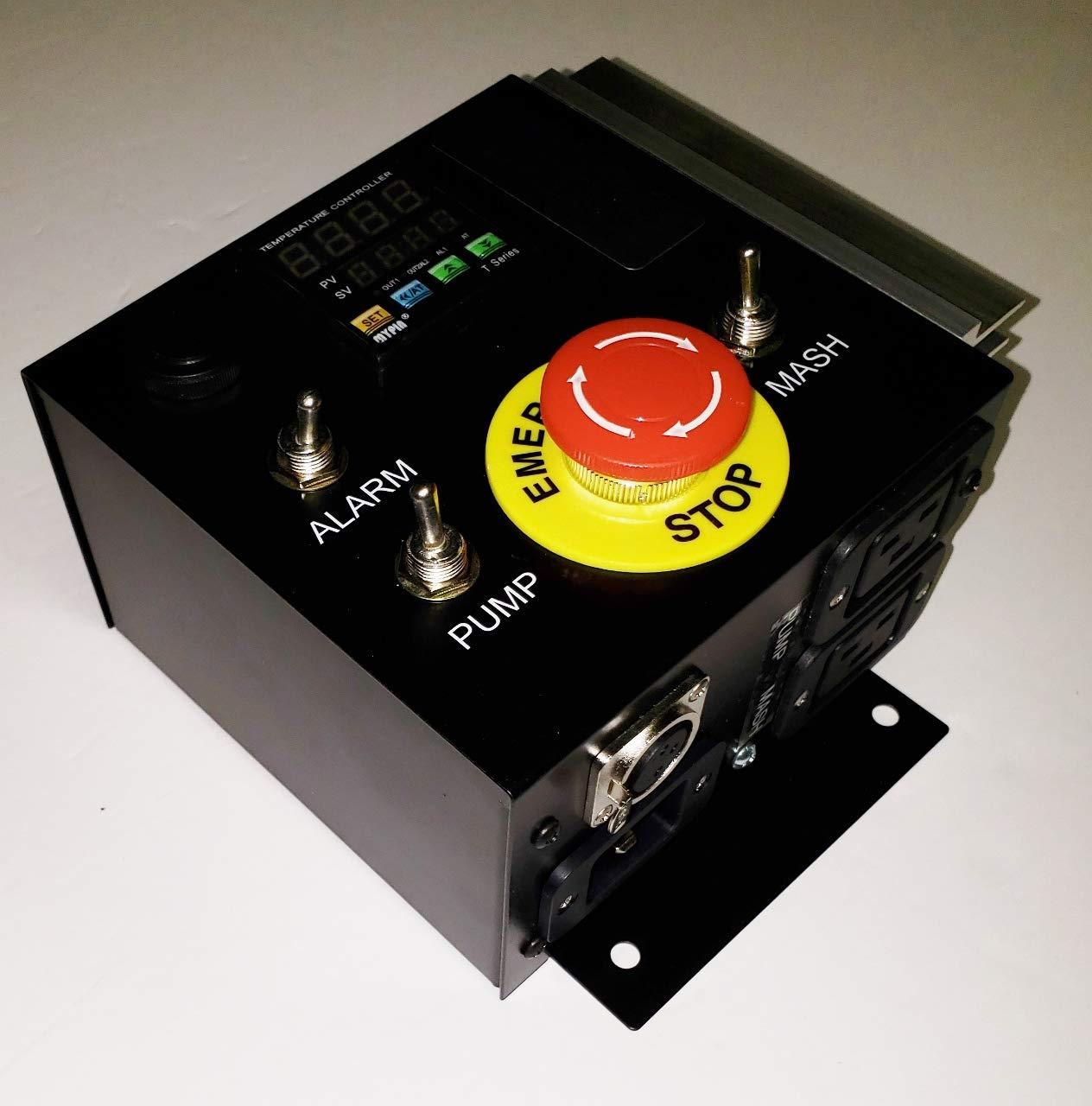 International 220/230/240v 50/60 Hz Mash Tun/RIMS (Recirculating Infusion Mash System) Tube Controller by Stir-Plate (Image #4)