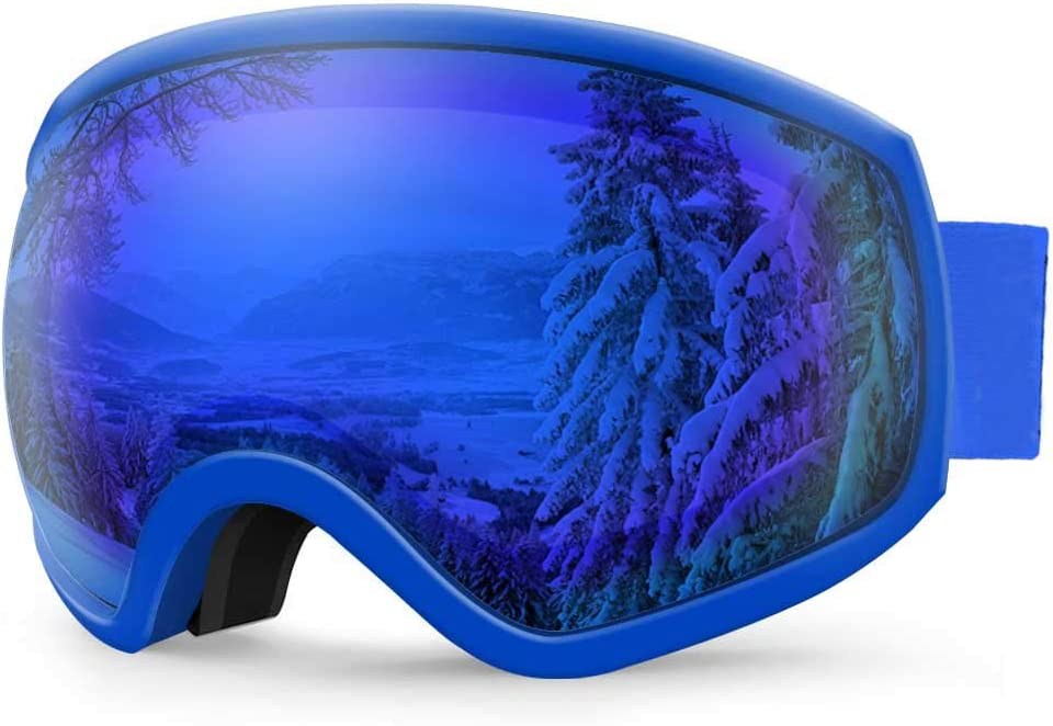AKASO Ski Goggles, Snowboard Goggles – Anti-Fog, 100 UV Protection, Double-Layer Spherical Lenses, Helmet Compatible Snow Goggles for Men, Women, Youth Kids Explore Oregon Special Edition