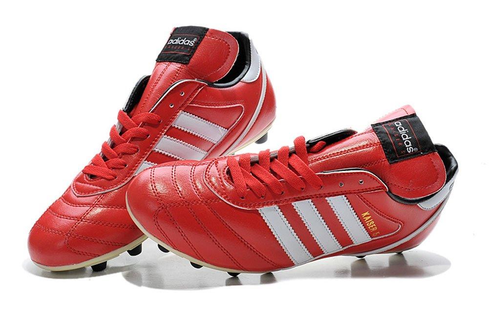 6fc1947356c Yurmery Shoes Mens Football Soccer Kaiser 5 Liga FG Red Boots   Amazon.co.uk  Shoes   Bags