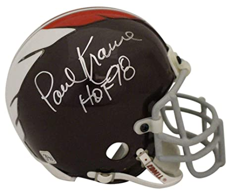 Amazon.com  Paul Krause Autographed Signed Washington Redskins Mini Helmet  HOF OA  Sports Collectibles b66ecec53