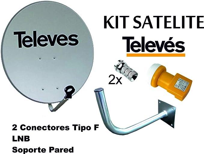 KIT SATELITE TELEVES ASTRA CON DISCO DE ...