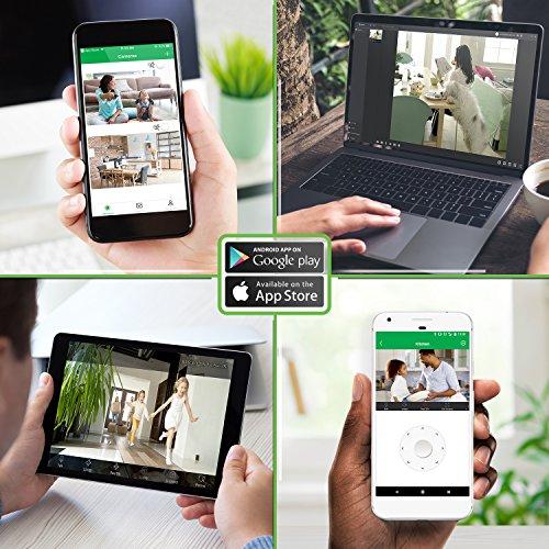 4PACK-E1B Zencam 720p WiFi Camera Indoor Wireless Security Camera IP